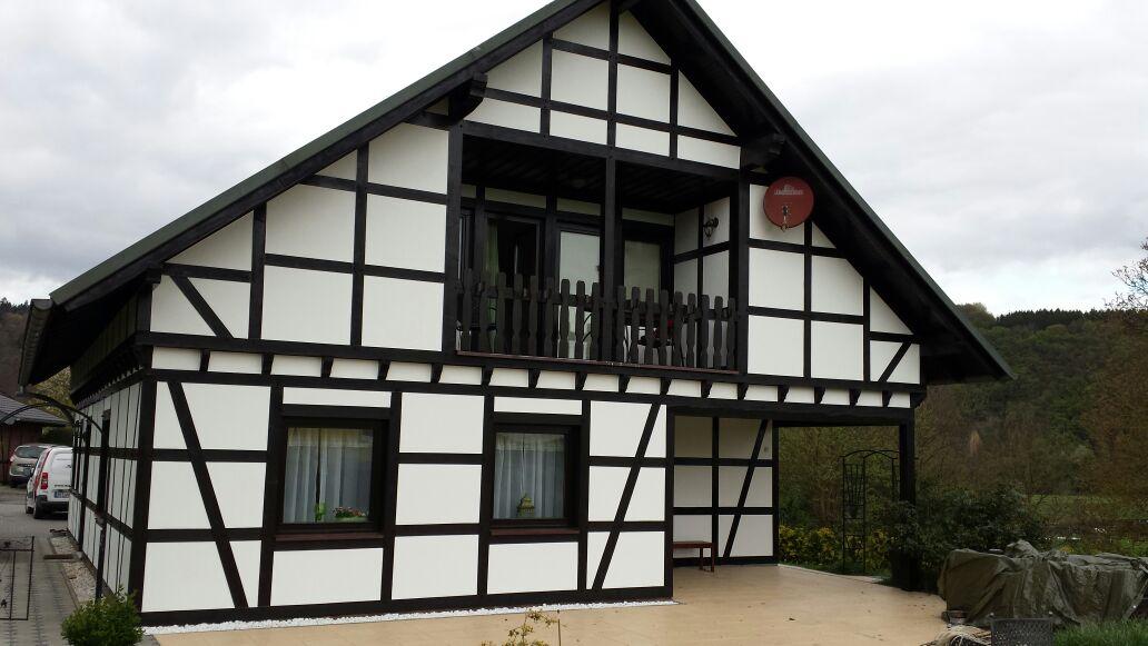 Fachwerk maler weller birnbach altenkirchen westerwald for Fachwerkhaus aufbau